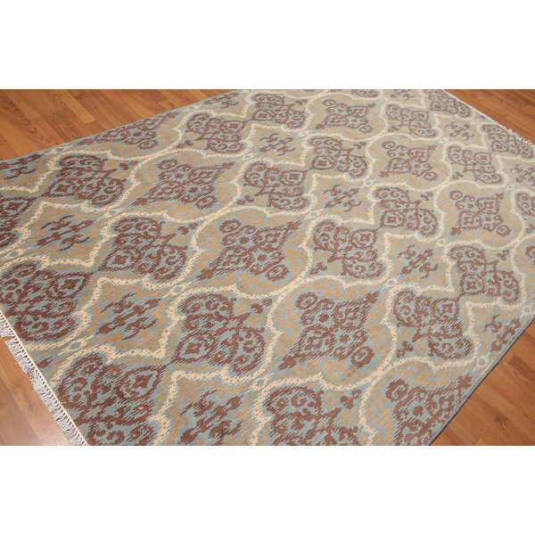 One-of-a-Kind Haynes Hand-Knotted Wool Brown/Beige Area Rug by Canora Grey