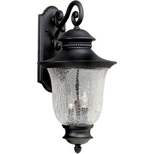 Inexpensive Hartsell 3-Light Outdoor Wall Lantern By Alcott Hill