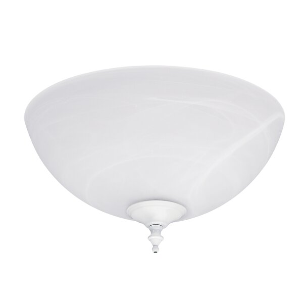 2-Light Bowl Ceiling Fan Light Kit by Hunter Fan