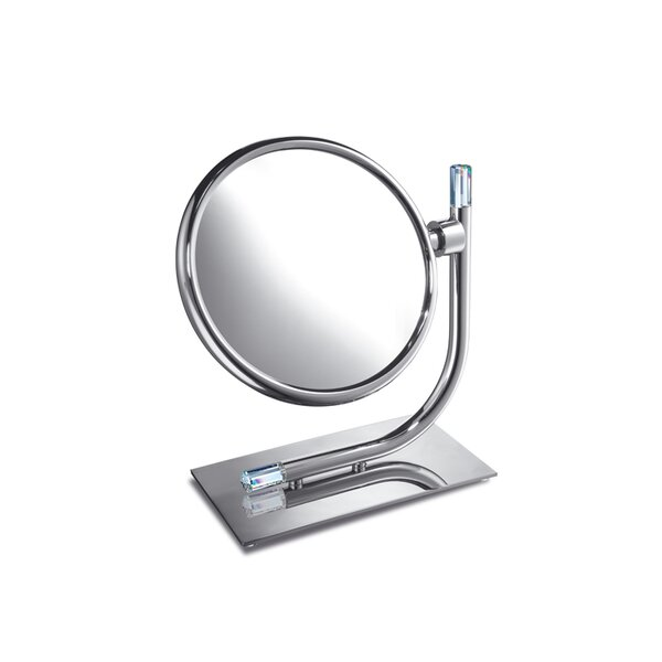 Double Face Swarovski Crystal Magnifying Mirror by Windisch by Nameeks