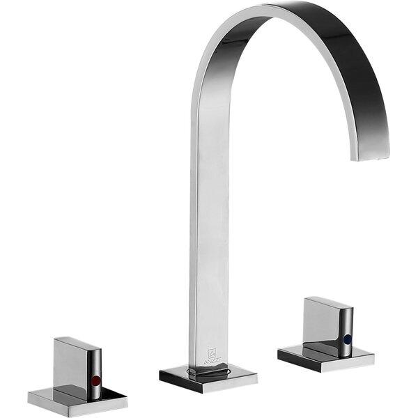 Sabre Double Handle Widespread Bathroom Faucet
