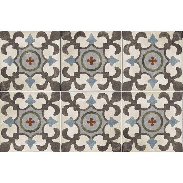 Design Evo 8 x 8 Porcelain Field Tile in Brown/Beige by Travis Tile Sales