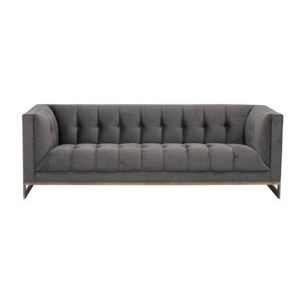 Irongate Ekon Chesterfield Sofa by Sunpan Modern