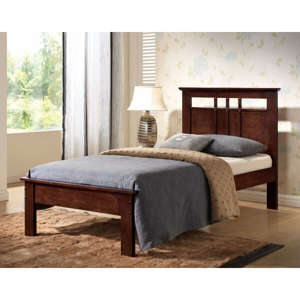 Partee Wooden Twin Standard Bed by Winston Porter
