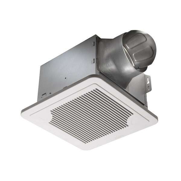 BreezSmart 130 CFM Energy Star Bathroom Fan with Humidity Sensor by Delta Breez