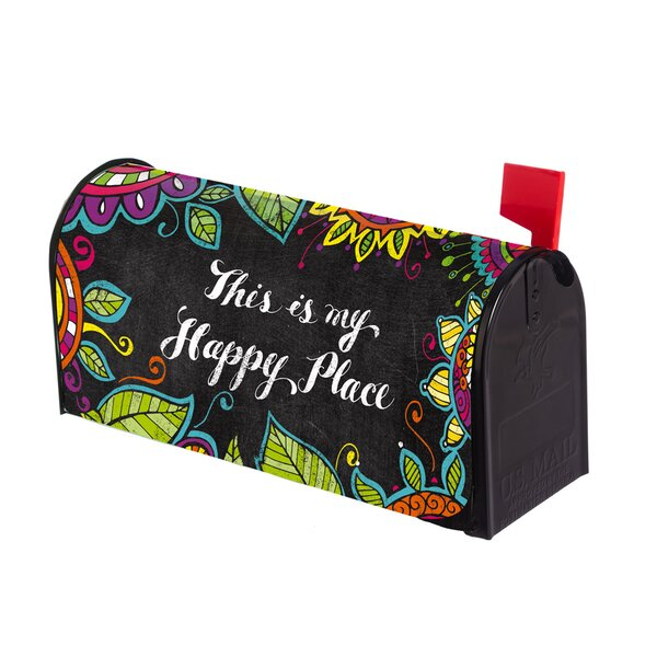 This Is My Happy Place Mailbox Cover by Evergreen
