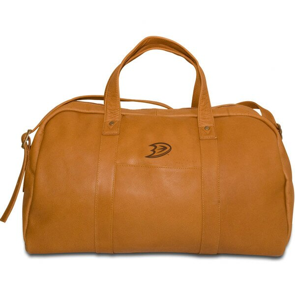 NHL 18 Leather Corey Travel Duffel by Pangea Brands