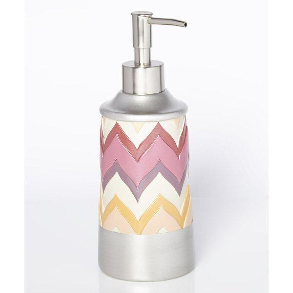 Flame Stitch Lotion Dispenser by Popular Bath