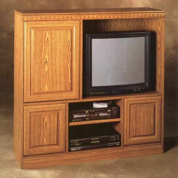Wheaton Solid Wood Entertainment Center For TVs Up To 32