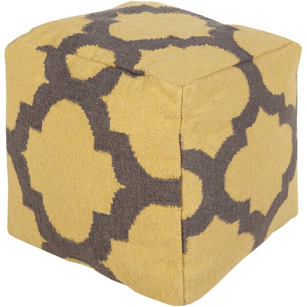 Aalia Pouf by Bungalow Rose