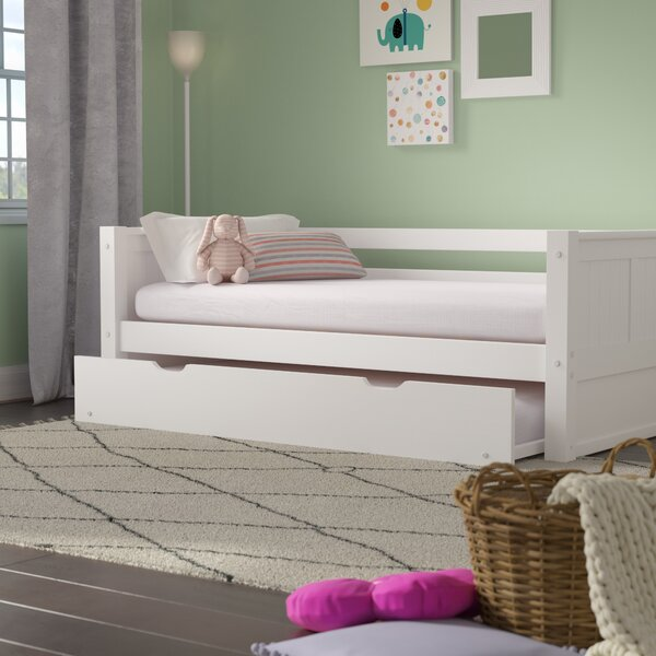 Burkley Twin Panel Bed With Trundle By Mack & Milo #2