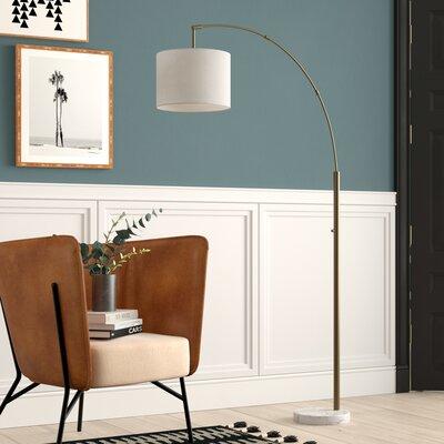 White Amp Cream Floor Lamps You Ll Love In 2020 Wayfair