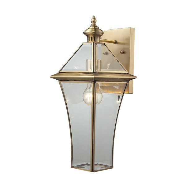 Dagostino 1-Light Outdoor Wall lantern by Darby Home Co