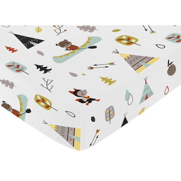Outdoor Adventure Fitted Crib Sheet by Sweet Jojo Designs