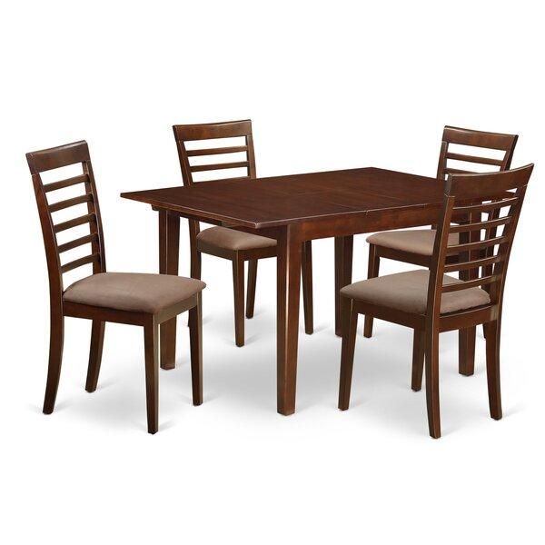 Lorelai 5 Piece Dining Set by Alcott Hill