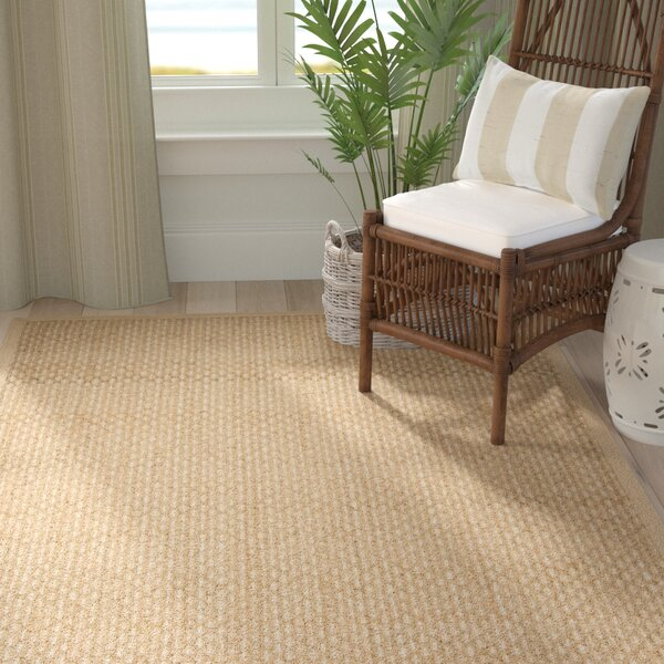 Chagoya Beige Area Rug by Rosecliff Heights