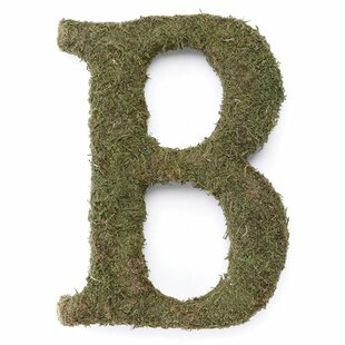 Large Moss Monogram Wreath