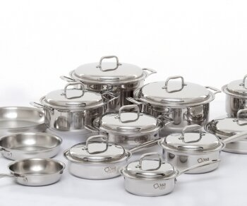 12 Piece Cookware Set by 360 Cookware