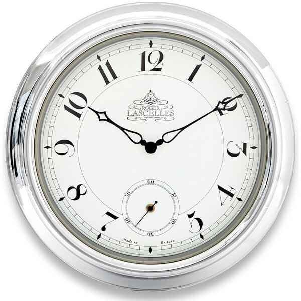 A Station Second Hand 18.4 Wall Clock by Lascelles London