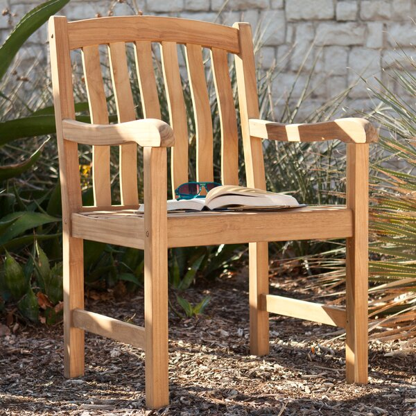 Anderson Teak Patio Chair by Wildon Home ®