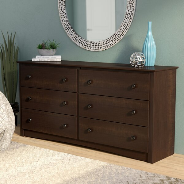 Blinda 6 Drawer Double Dresser by Winston Porter