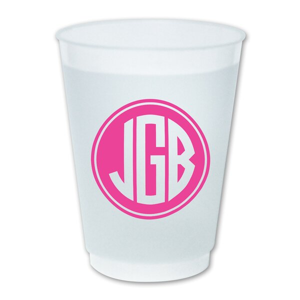 16 oz. Plastic Every Day Glass (Set of 25) by Boatman Geller