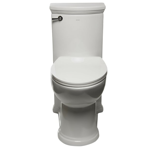 1.32 GPF Elongated One-Piece Toilet (Seat Included) by EAGO
