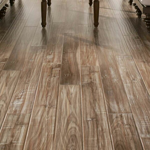 Coastal Living 5 x 47 x 12mm Walnut Laminate Flooring in White Wash by Armstrong Flooring