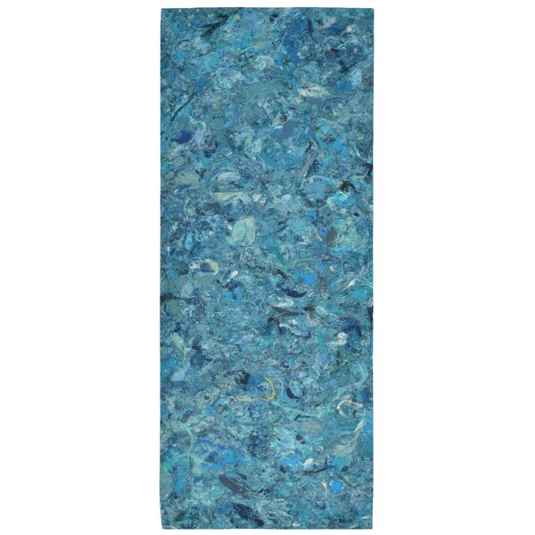 Chacko Blue Indoor/Outdoor Area Rug by Wrought Studio