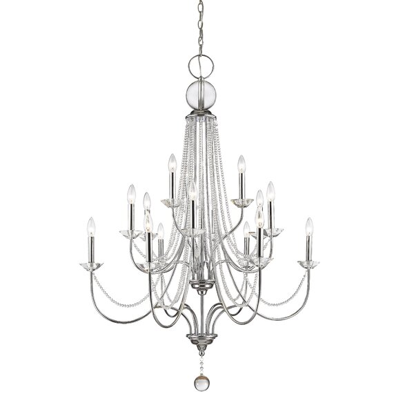 Patrice 15 - Light Candle Style Tiered Chandelier By House Of Hampton