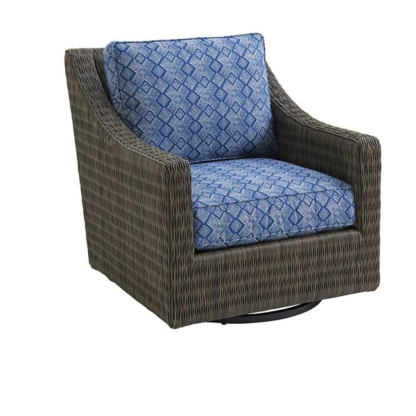 Cypress Point Ocean Terrace Swivel Patio Chair with Sunbrella Cushions by Tommy Bahama Outdoor Tommy Bahama Outdoor