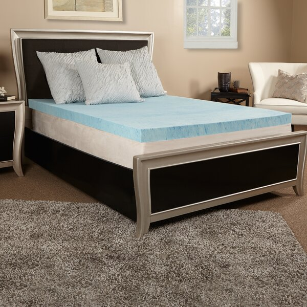 4 Gel Memory Foam Mattress Topper by Luxury Solutions