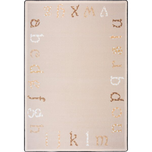 Hand-Tufled Beige/Brown Kids Rug by The Conestoga Trading Co.