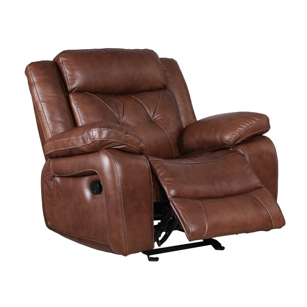 Casto Leather Recliner by Red Barrel Studio