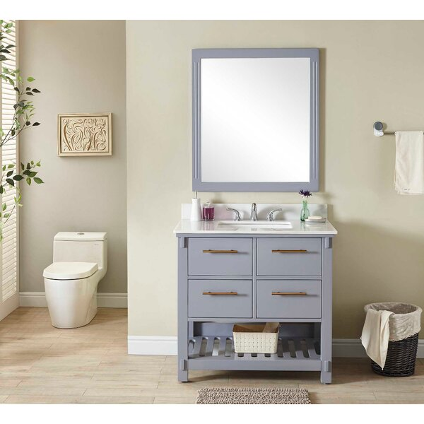 Greenhill 37 Single Bathroom Vanity Set by Wrought Studio