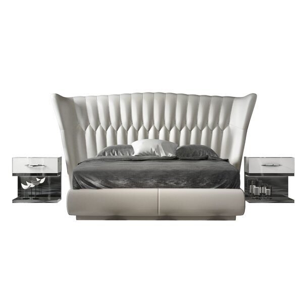 Jerri Queen Platform 3 Piece Bedroom Set by Everly Quinn