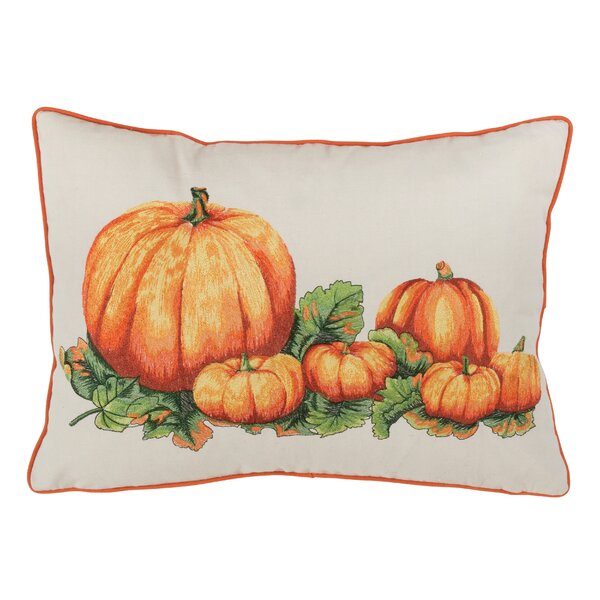 Rosenthal Pumpkin Decorative Lumbar Pillow by August Grove