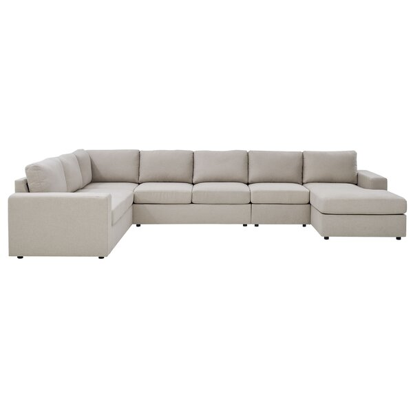 Recommend Saving Reversible Modular Sectional by Ebern Designs by Ebern Designs
