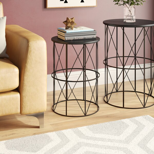 Slifer 2 Piece Nesting Tables by Mercury Row