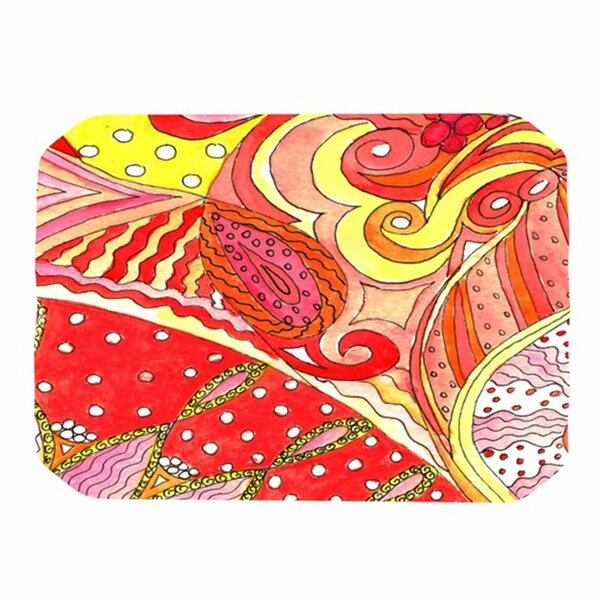 Swirls Placemat by KESS InHouse