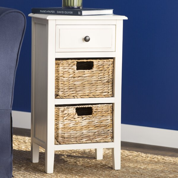 Santa Cruz End Table With Storage By Breakwater Bay