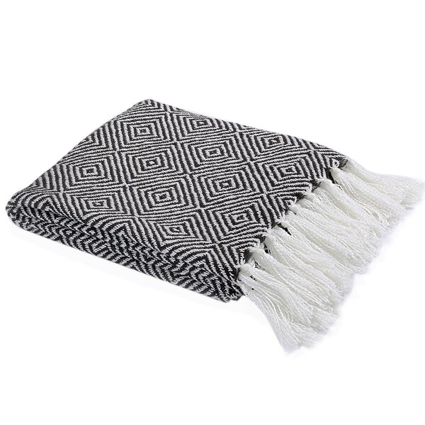 Kidd Cotton Geometrical Throw by World Menagerie