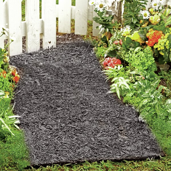 Environmentally Friendly Perma Mulch Pathway by Plow & Hearth