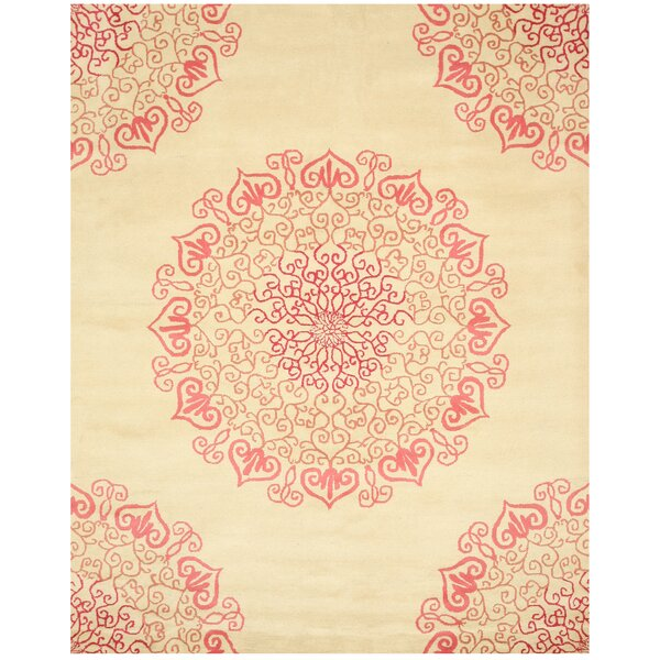 Cassidy Hand Tufted Ivory Area Rug by The Conestoga Trading Co.