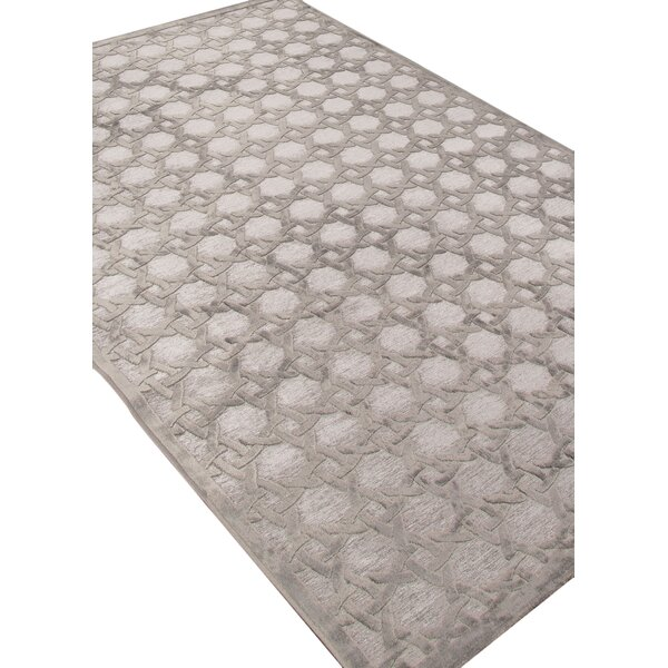 Bowles Geometric Gray Area Rug by Willa Arlo Inter