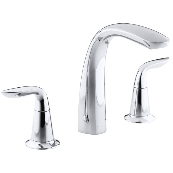 Refinia Bath Faucet Trim for High-Flow Valve with Lever Handles  Valve Not Included by Kohler Kohler
