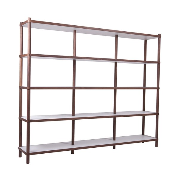 Roquefort Bi-Color Etagere Bookcase by Brayden Studio
