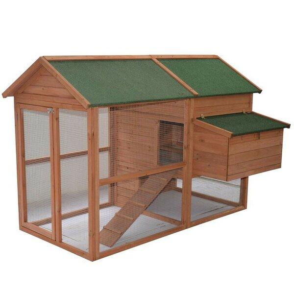 Hattaway Wooden Backyard Hen House Chicken Coop by Tucker Murphy Pet