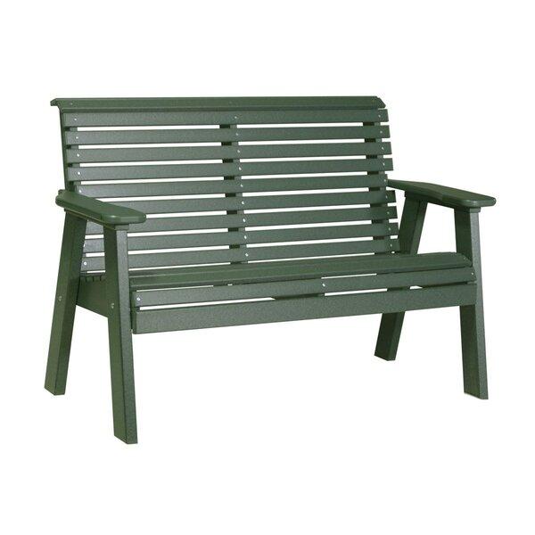 Horasan Plain Plastic Park Bench by Ebern Designs Ebern Designs