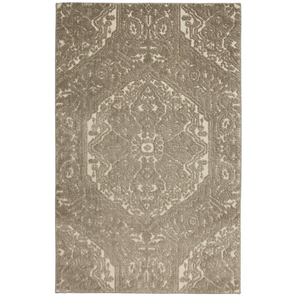 Genova Taupe/Ivory Area Rug by Darby Home Co